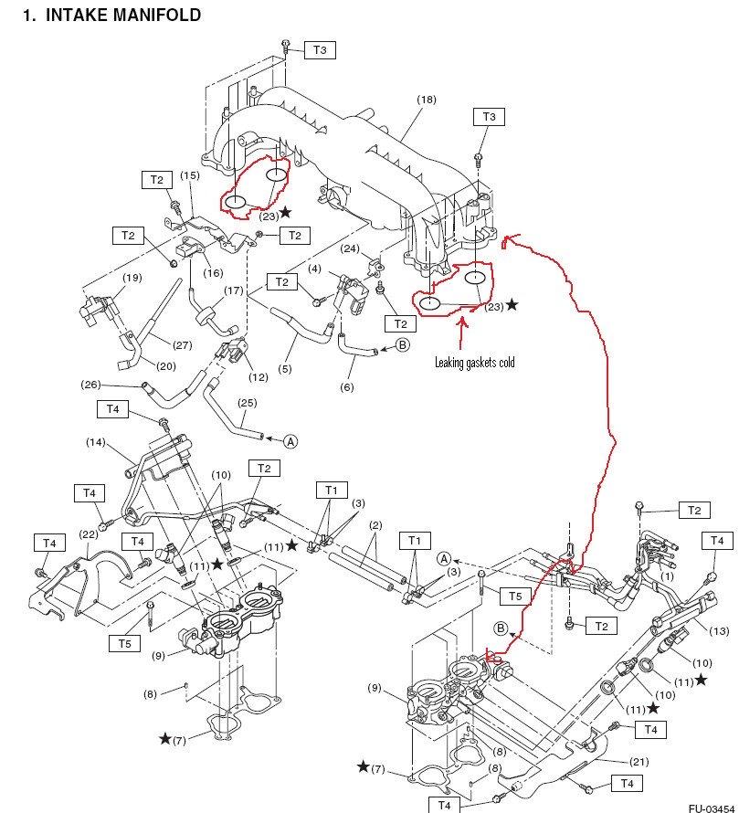 [ZY_6691] 2005 Subaru Legacy Turbo Vacuum Diagram Free Diagram