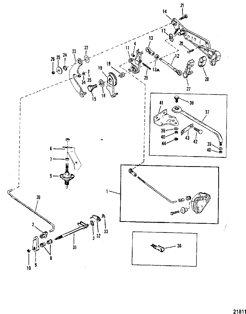 [DR_4891] 25 Hp Mercury Tiller Handle Diagram On Manual