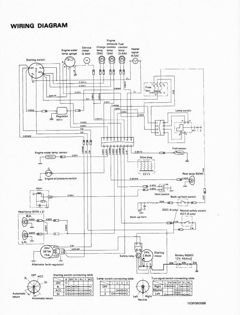 Book Info Wiring Komatsu Schematics Fork Lift Fb13M
