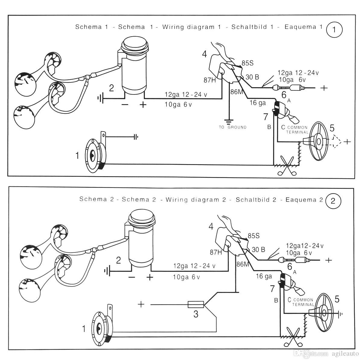 [HO_5975] Loud Horns Dual Horn Relay Diagram On Horn Relay
