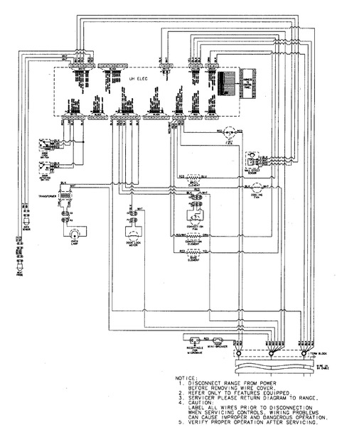 [KT_9111] Wiring Information Diagram And Parts List For