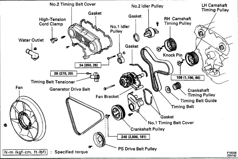 [RL_0885] Toyota 3 0 Engine Timing Diagram Schematic Wiring