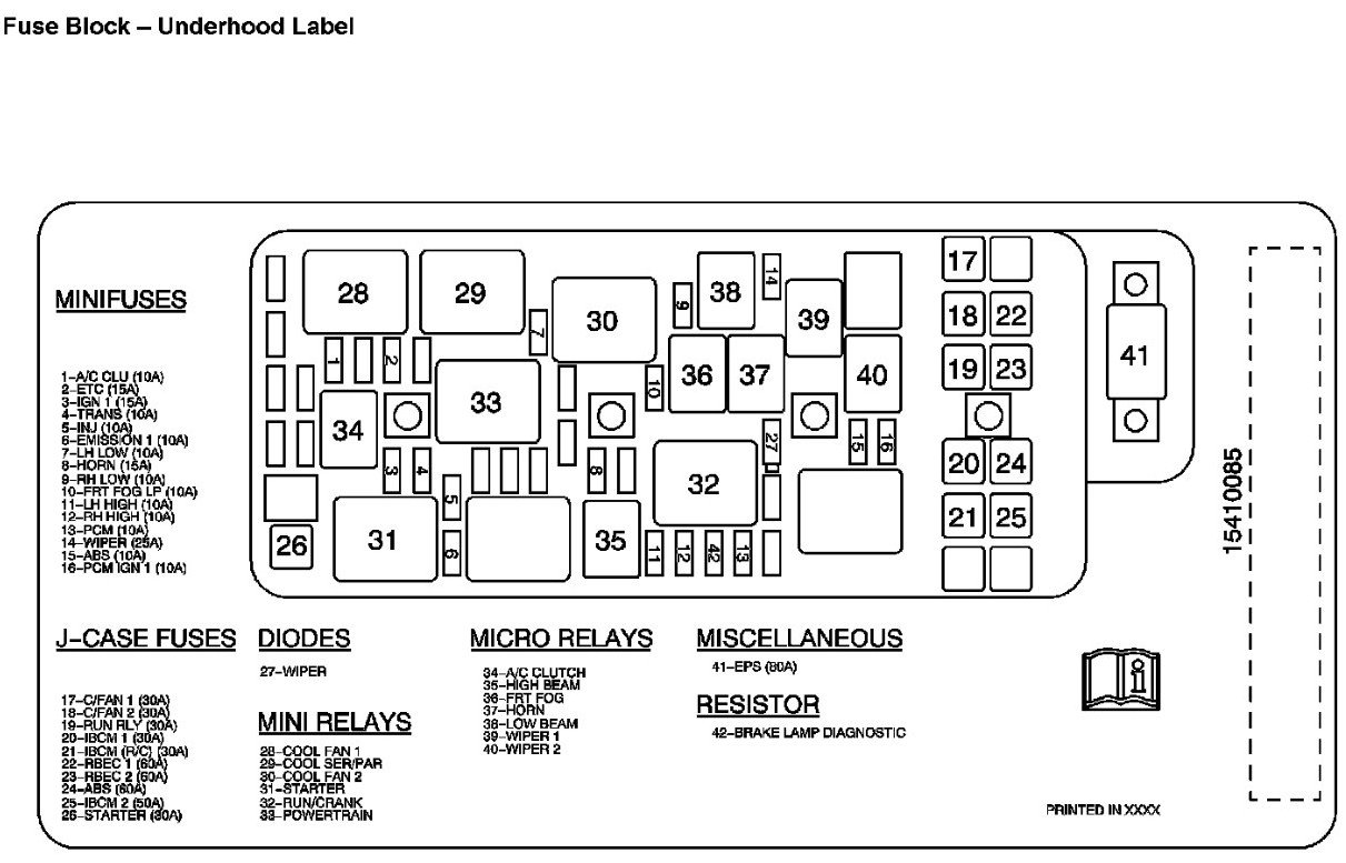 [ON_1190] 2007 Chevy Equinox Horn Relay Download Diagram