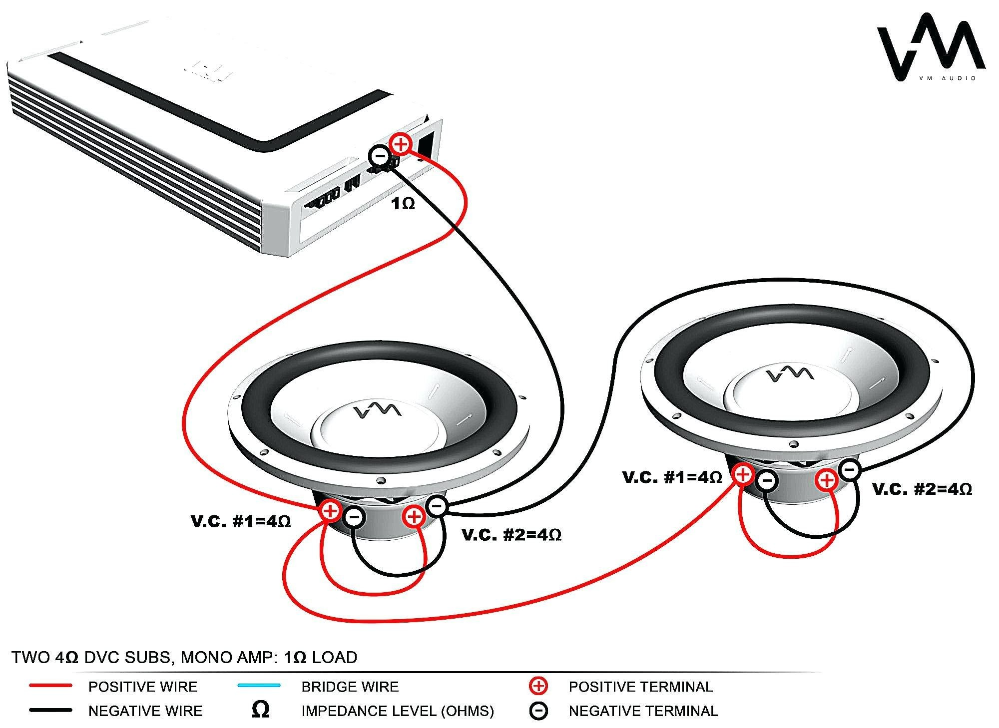 Wiring Diagram For Two Dvc Subs