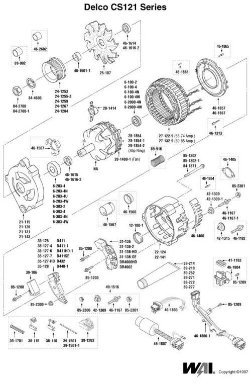 [FA_3299] Gm Alternator Parts Diagram Download Diagram
