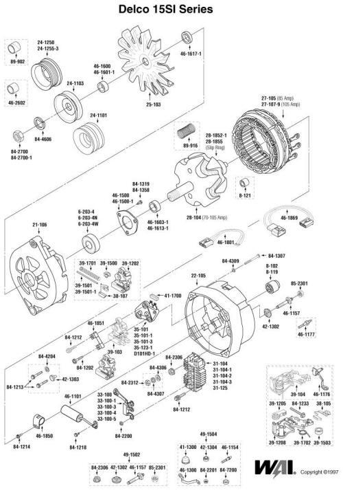 [OR_9911] Gm Alternator Parts Diagram Download Diagram
