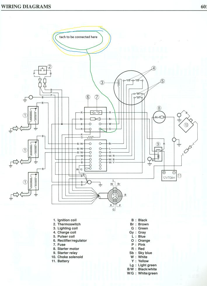 [KV_8700] Tach Wiring Diagram Tachometer On Tohatsu