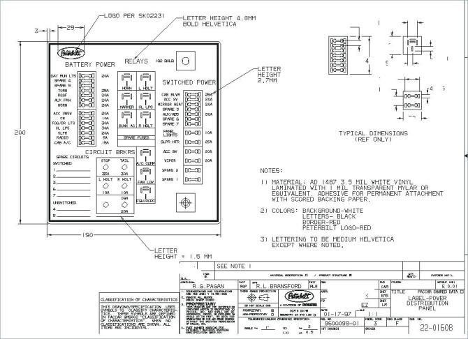 2007 freightliner fuse panel diagram  wiring diagram cycle