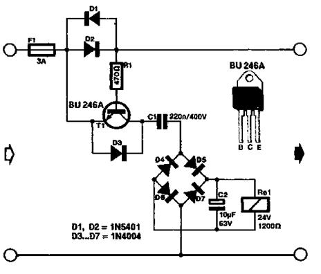 [NE_3542] Ac Current Sensor Circuit Wiring Diagram