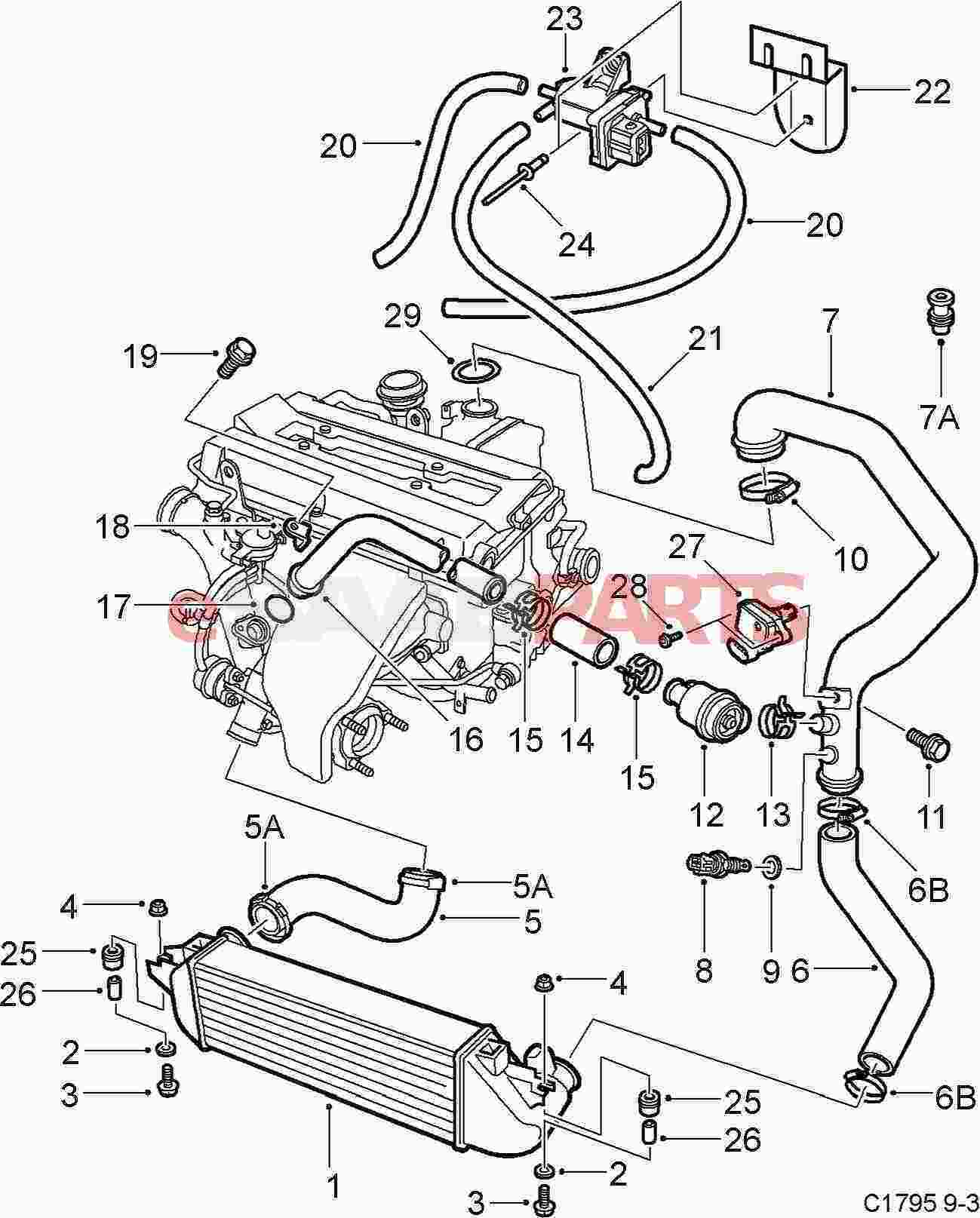 Saab 900 Turbo Wiring Diagram