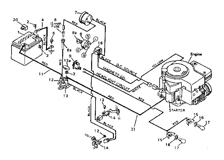 Craftsman Lawn Tractor Wiring Diagram / Zw 4556 Mower