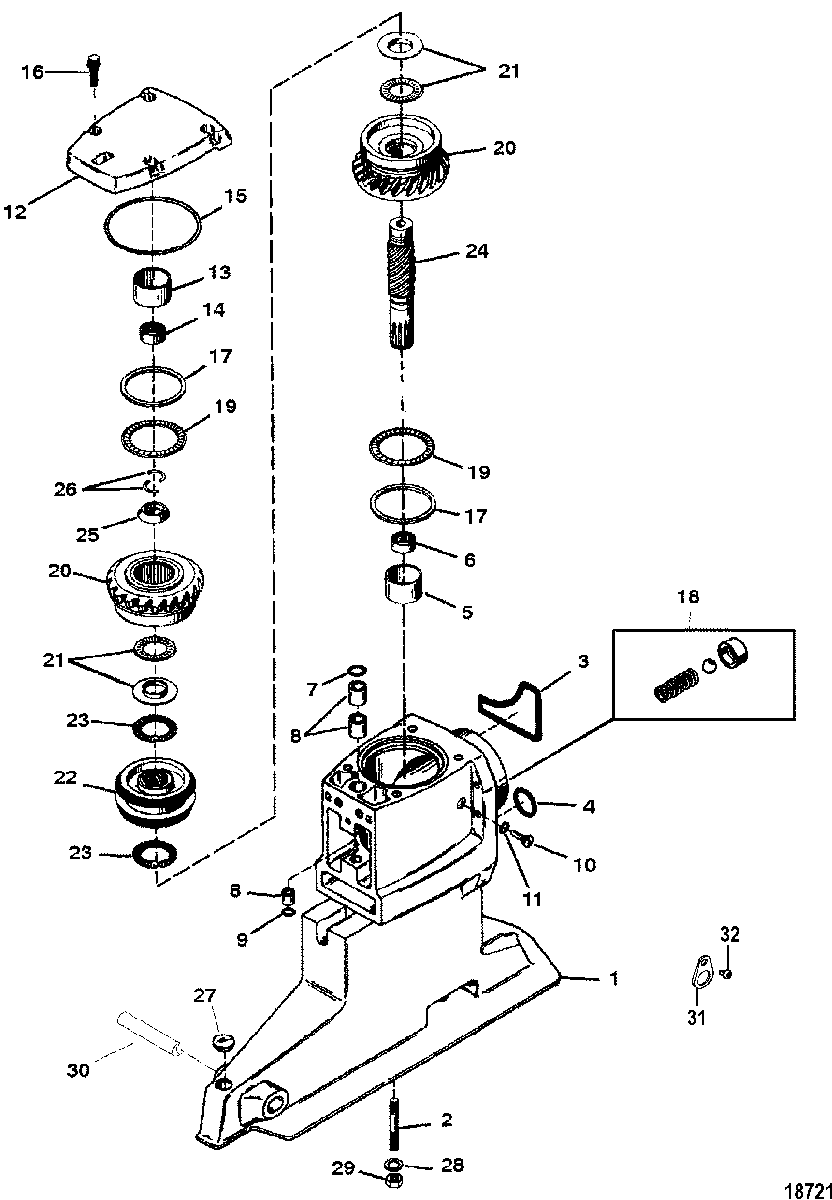 [VK_2587] Shift Bracket Bravo Engines Serial Number Parts