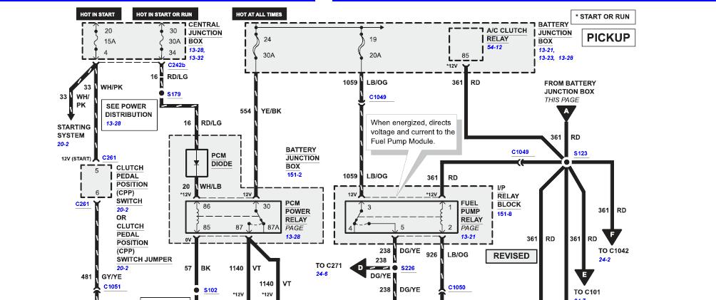 [Download 19+] 2002 Ford Ranger Fuel Pump Wiring Diagram