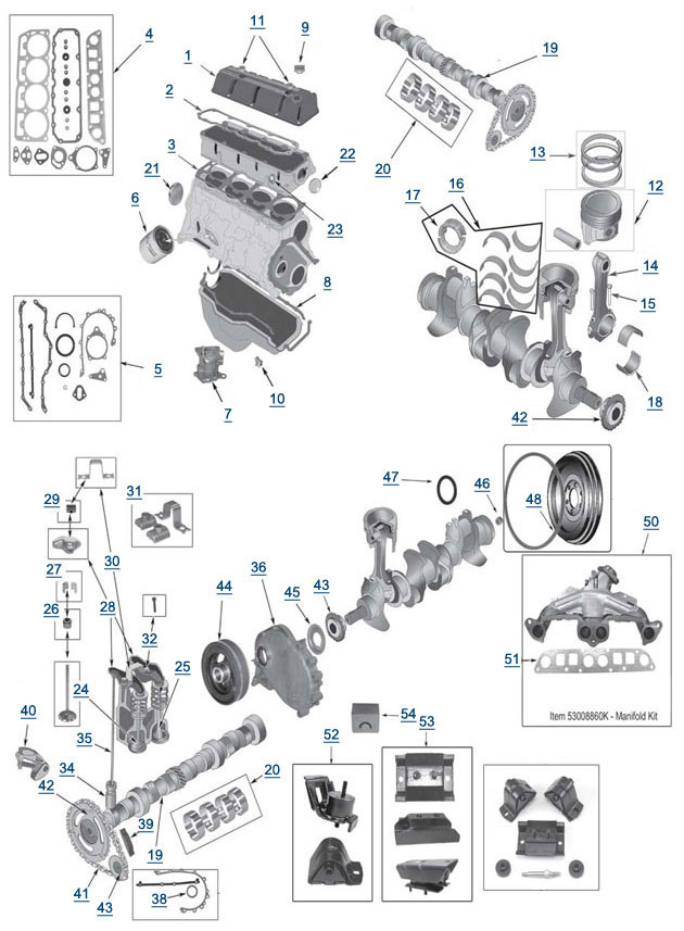 [GY_9494] Carburetor 1989 Jeep Wrangler On 1988 Jeep