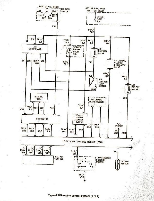 [KT_9577] 93 Chevy Truck Throttle Body Wiring Diagram Free