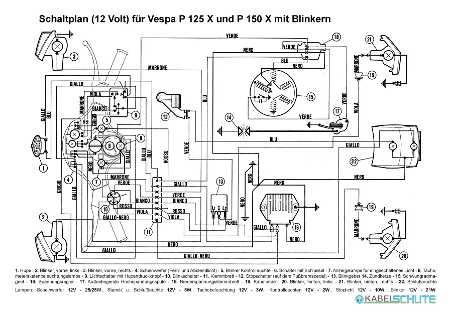 [AR_6831] Vespa Wiring Diagram Conversion Free Diagram