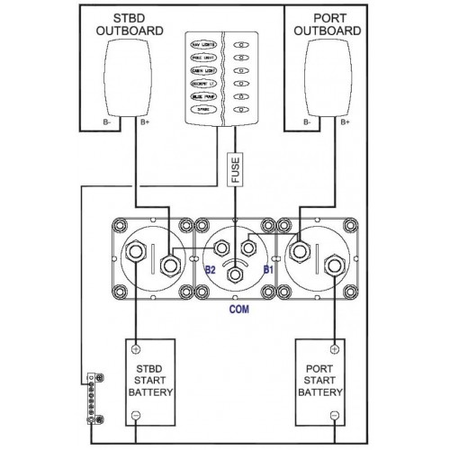 wiring diagram for bep marine battery switch  cub cadet