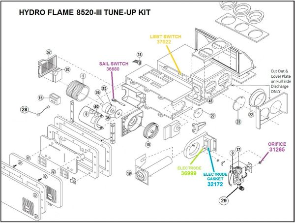 [HT_2815] Atwood Rv Furnace Parts Diagram Wiring Diagram