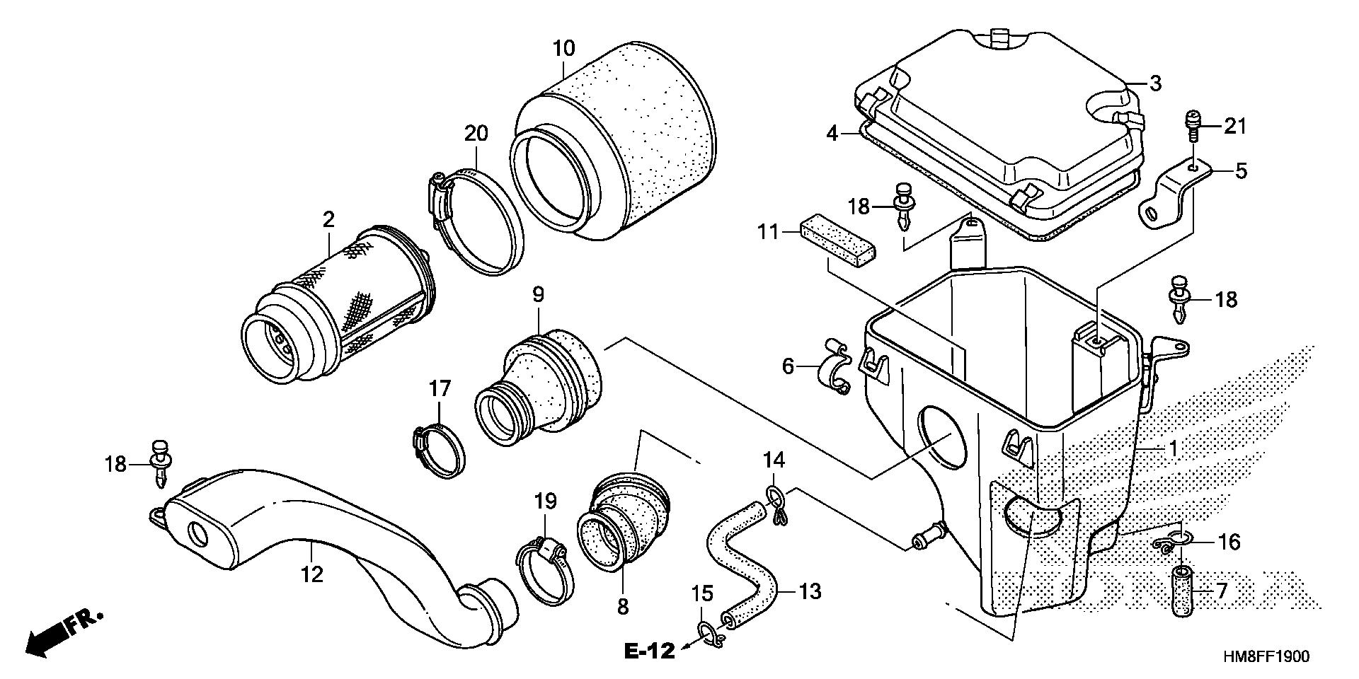 [GZ_9086] Diagram Of Honda Atv Parts 2004 Trx250Tm A