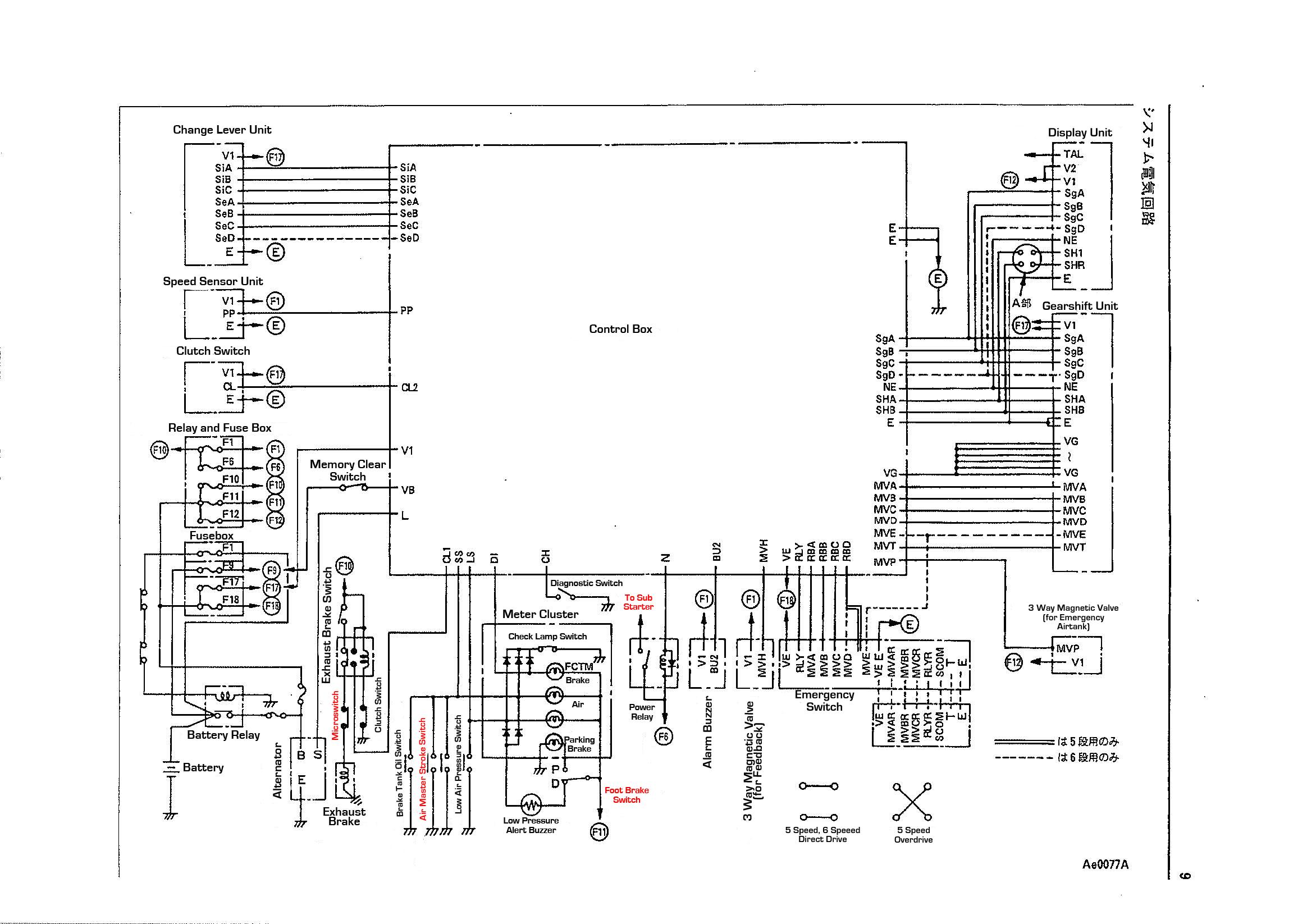Hino Truck Wiring Diagrams Free