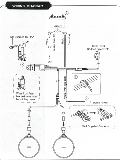 [RG_2977] Wiring Piaa Fog Lamps Schematic Wiring