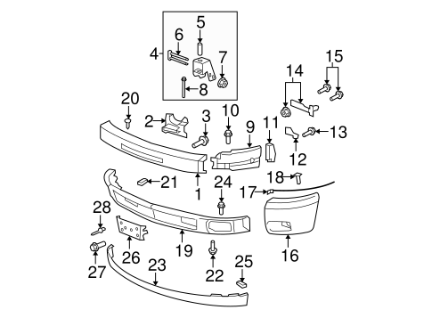 [OD_6385] Chevy Silverado Front Diagram Download Diagram