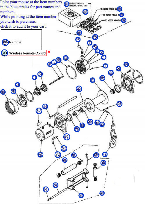 wo8071 warn atv winch wireless remote wiring diagram free