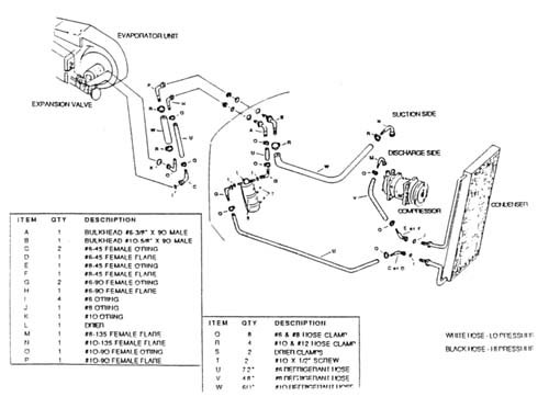 [KN_3011] Chevy Heater Hose Routing Diagram Schematic Wiring