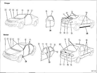 [XL_5256] Engine Wiring Diagram199194 Sentra And 199193 Nx