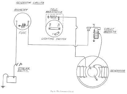 [EK_4087] Ford Tractor 6 Volt Positive Ground Wiring