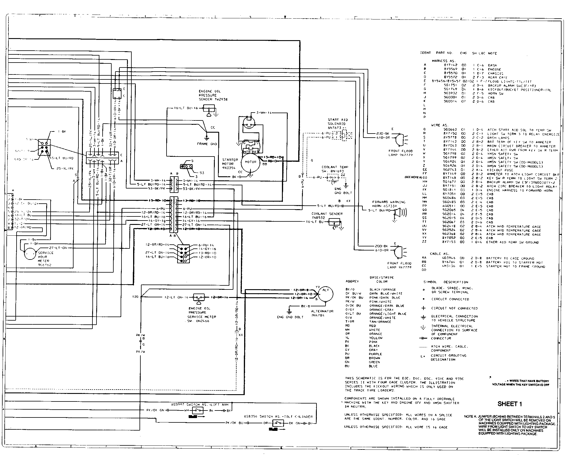 [YF_4734] 236 Cat Engine Diagram Schematic Wiring