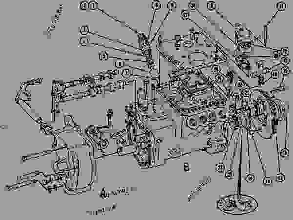 [WG_4955] Cat Engine Fuel System Besides Cat 3406E Ecm