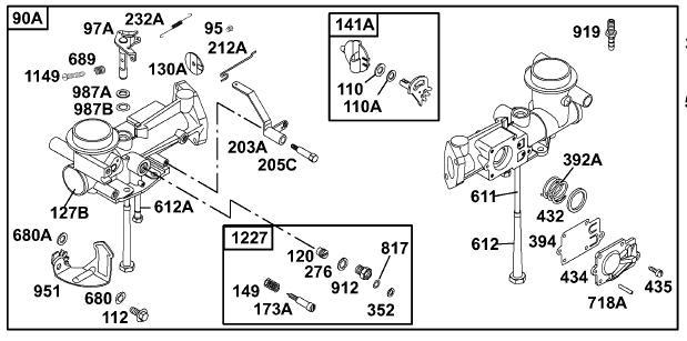[SX_8144] Briggs And Stratton 5Hp Carburetor Diagram