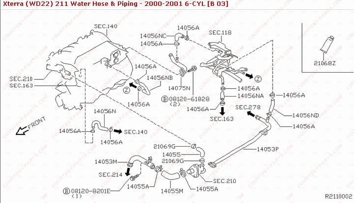 Xterra Engine Diagram : 2008 Nissan Xterra Engine Diagram