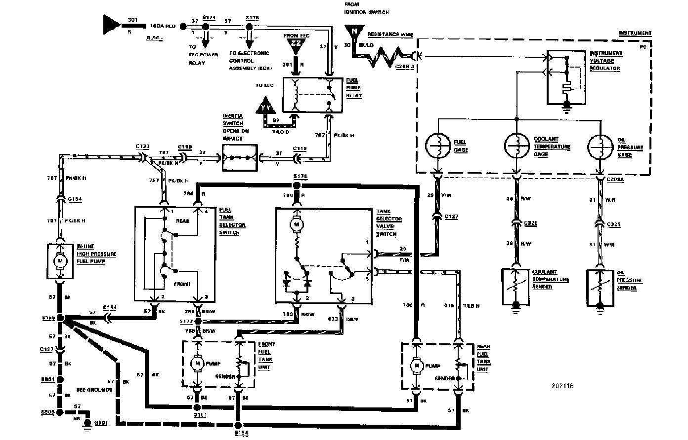 1985 Ford Alternator Wiring Diagram / 85 Ford F 150
