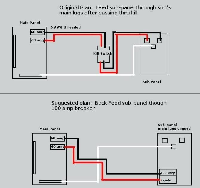 wt3481 garage sub panel wiring diagram together with 100