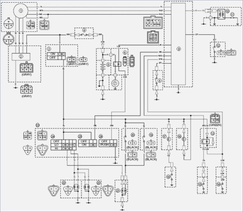 [WM_8419] Yamaha Grizzly 700 Wiring Diagram Free Diagram