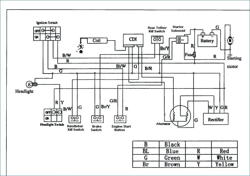 Taotao 50Cc Scooter Ignition Wiring Diagram : How To Wire