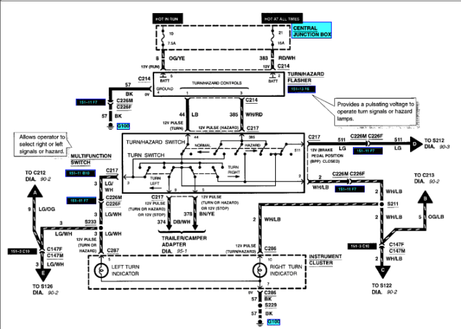 wiring diagram for 2002 ford explorer track  center wiring