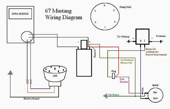 [XW_5900] 1967 Mustang Ignition Wiring Free Diagram