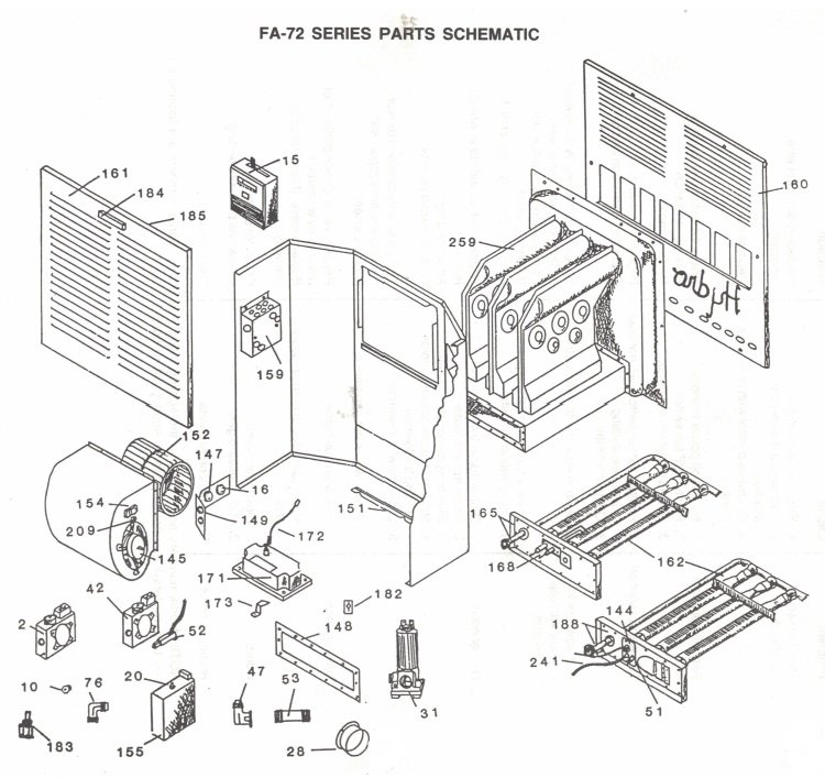 [RD_7484] Atwood Rv Furnace Parts Diagram Wiring Diagram