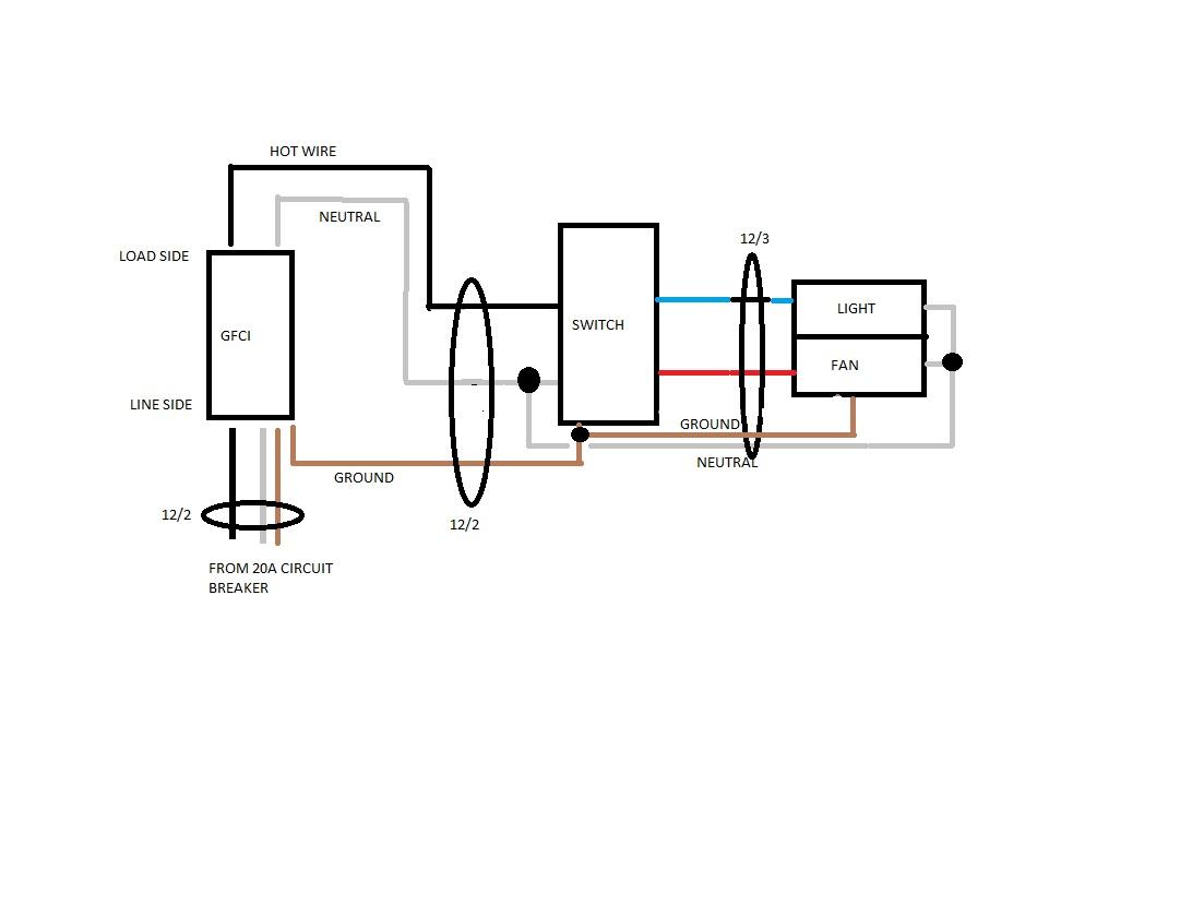 Ceiling Fan Light Combo Wiring Diagram