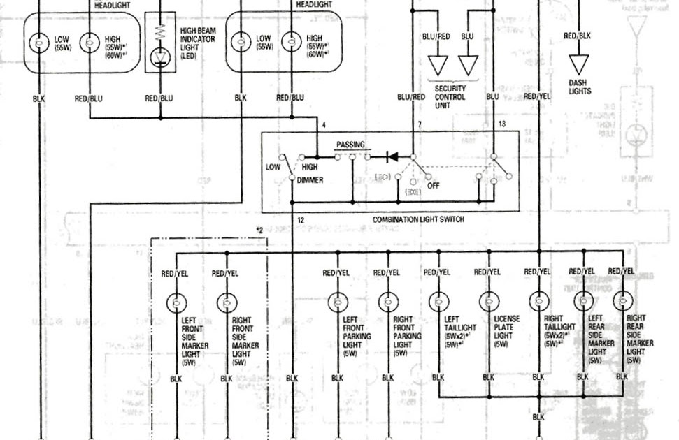 [GN_8700] Acura Lights Wiring Diagram Free Diagram
