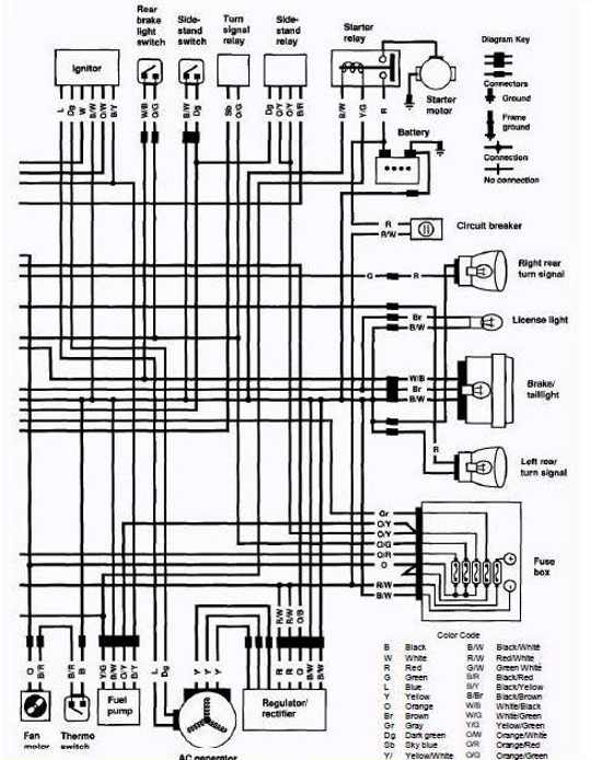 1996 Suzuki Intruder 1400 Wiring Diagram Collection