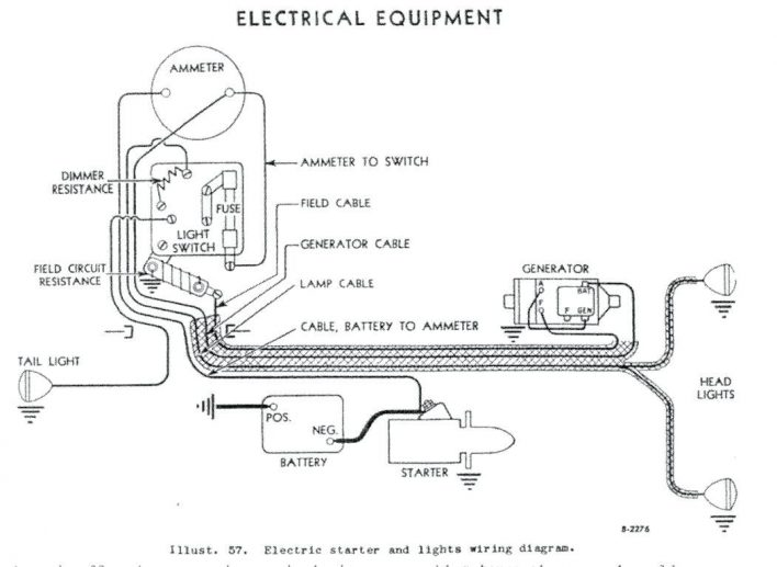 8N Ford Tractor Wiring Diagram 6 Volt Database