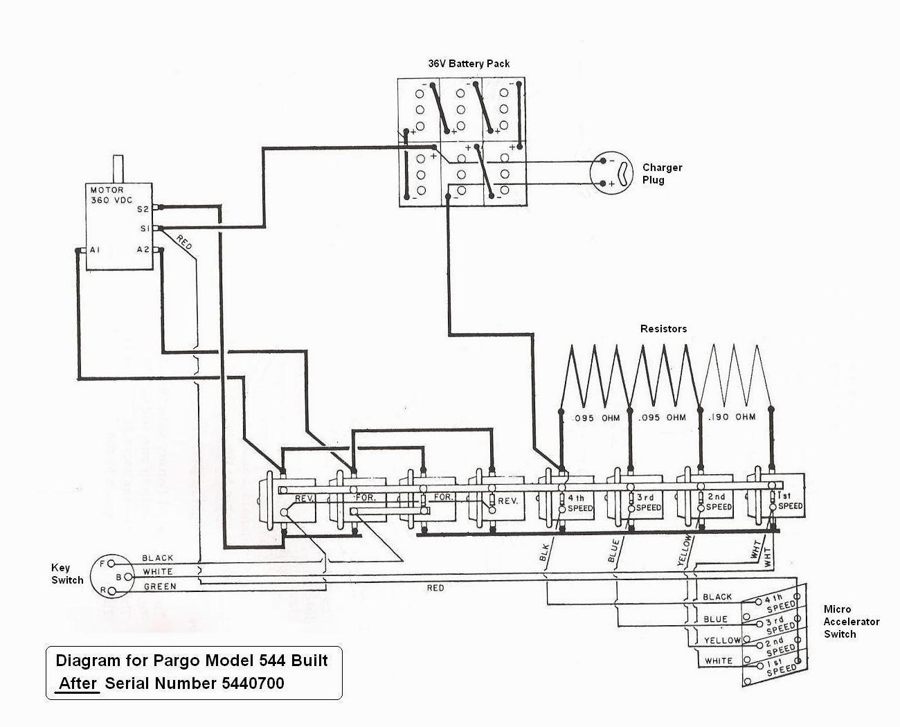Yamaha G1 Golf Cart Wiring Diagram / 09680 Yamaha G1 Gas