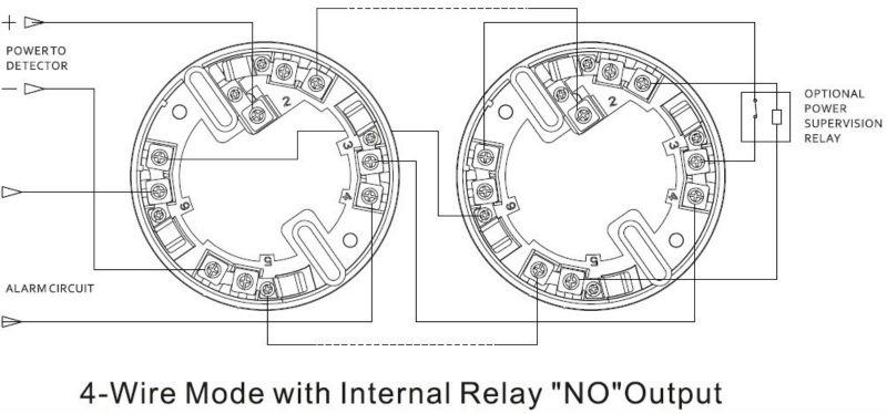 Optical Smoke Det Activ En54-7 Wiring Diagram / System