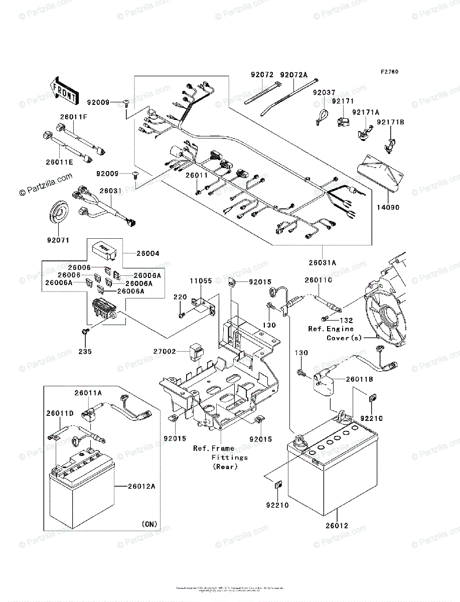 [TB_5385] 2014 Kawasaki Teryx Wiring Diagram Download Diagram