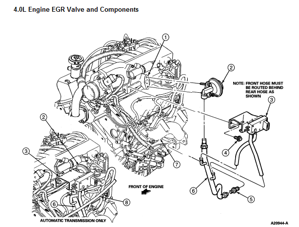 2004 Ford Explorer 4 0 Engine Diagram : 2000 Ford Explorer