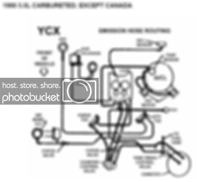 [ES_3280] 1986 350 Chevy Truck Vacuum Diagram Quadrajet